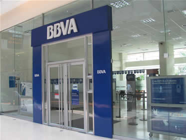 BBVA, One of Spain's largest banks uses Blue as their brand's main color