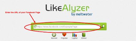 LikeAlyzer start page
