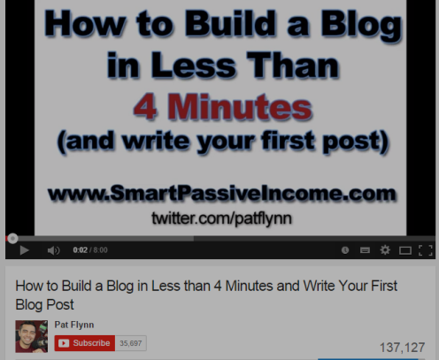 How to Build a Blog in Less than 4 Minutes and Write Your First Blog Post