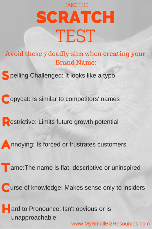 7 deadly sins to avoid when you create a brand name