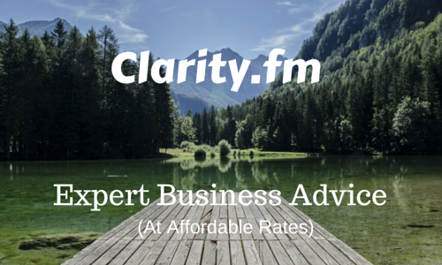 Clarity.fm - Expert business advice at affordable prices