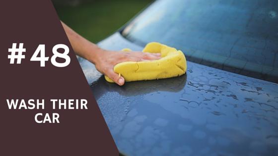 Employee Rewards - Wash their car