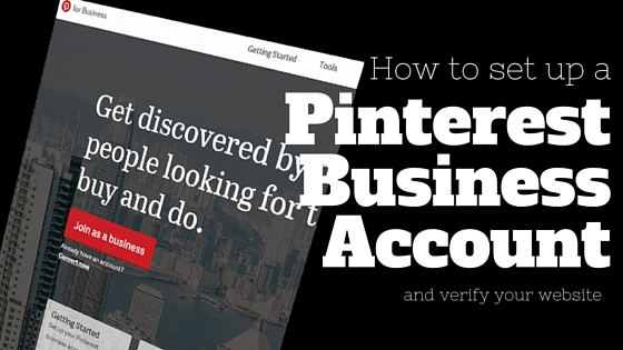 How to set up a Pinterest Business Account