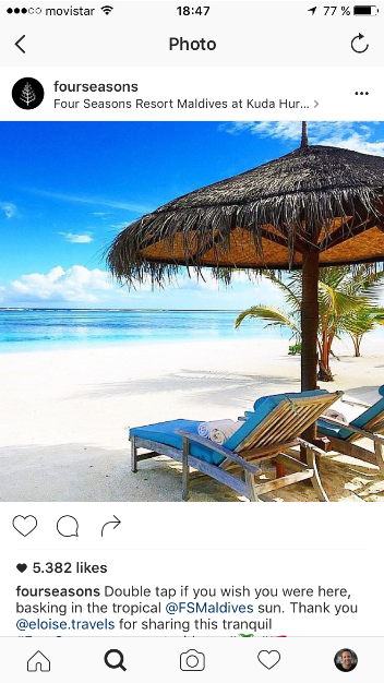 How Four Seasons uses Instagram